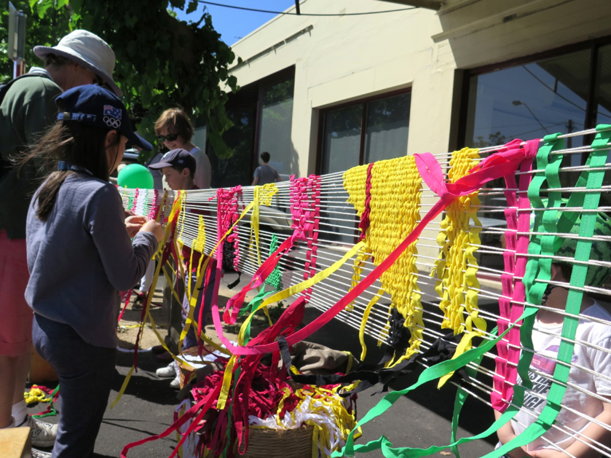 Emerald Hill Festival loom project by Fleur Brett